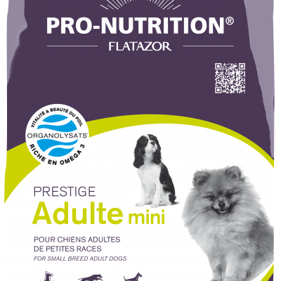 Pro-Nutrition Prestige Adulte Mini 3KG 310713